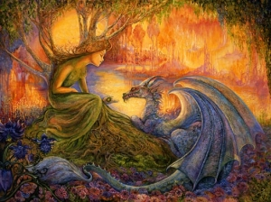 The Dryad and the Dragon