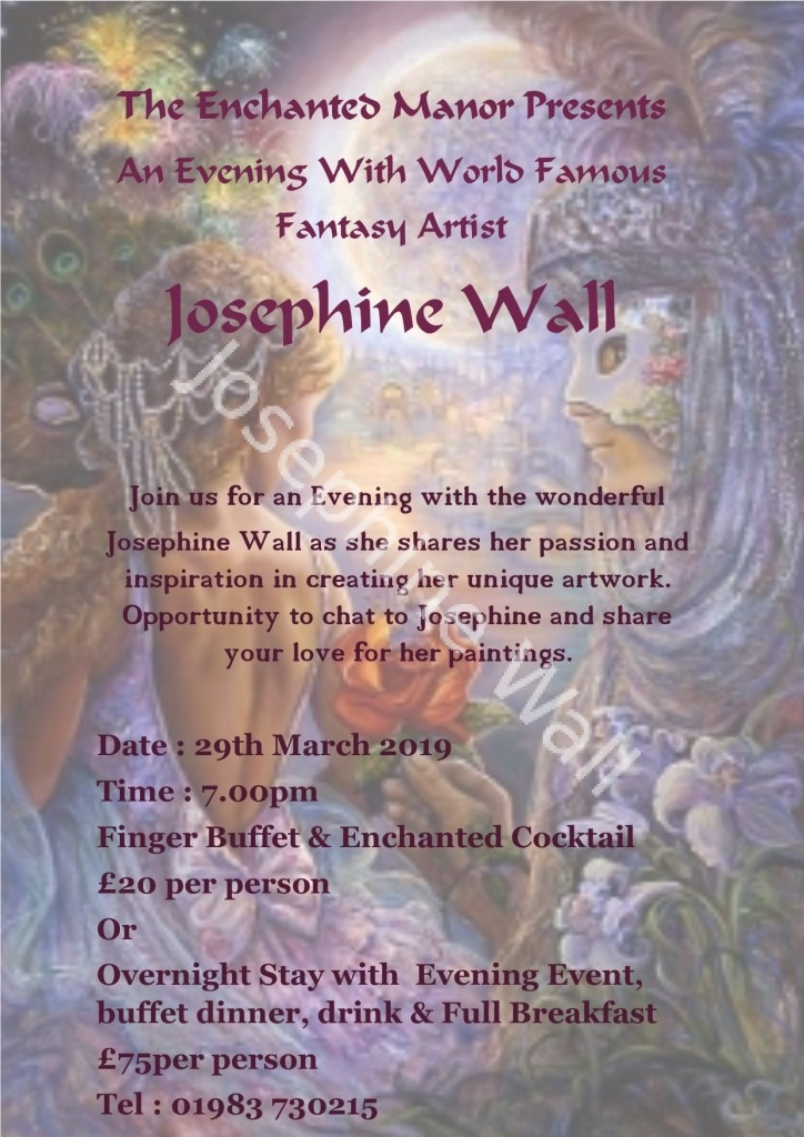 An Evening with Josephine Wall